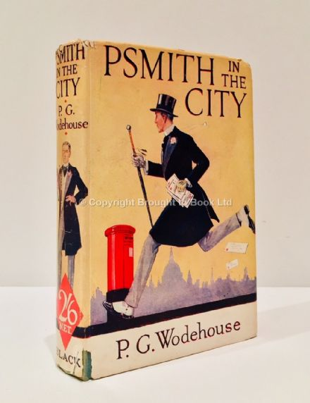 PSmith in the City by P.G. Wodehouse First Re-issue Twelfth Reprint) A&C Black 1939